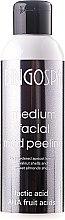 Parfüm, Parfüméria, kozmetikum Közepes arcpeeling tejjel- és AHA gyümölcssavakkal - BingoSpa Medium Facial Mud Peeling