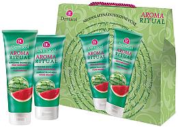 """Parfüm, Parfüméria, kozmetikum Szett """"Görögdinnye"""" - Dermacol Aroma Ritual Watermelon (sh/gel/250ml + b/milk/200ml)"""