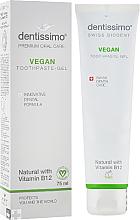 Parfüm, Parfüméria, kozmetikum Fogkrém B12 vitaminnal - Dentissimo Vegan with Vitamin B12