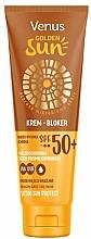 Parfüm, Parfüméria, kozmetikum Napvédő krém SPF 50 - Venus Golden Sun Blocker Cream SPF 50