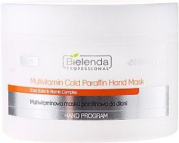 Parfüm, Parfüméria, kozmetikum Multivitaminos kézápoló maszk - Bielenda Professional Multivitamin Cold Paraffin Hand Mask