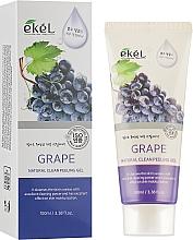 "Parfüm, Parfüméria, kozmetikum Arcpeeling-gél ""Szőlő"" - Ekel Grape Natural Clean Peeling Gel"