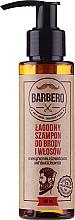 Parfüm, Parfüméria, kozmetikum Sampon szakállra - Pharma Barbero Shampoo
