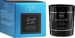 Parfüm, Parfüméria, kozmetikum Natúr szójagyertya - APIS Professional Good Life Soy Candle