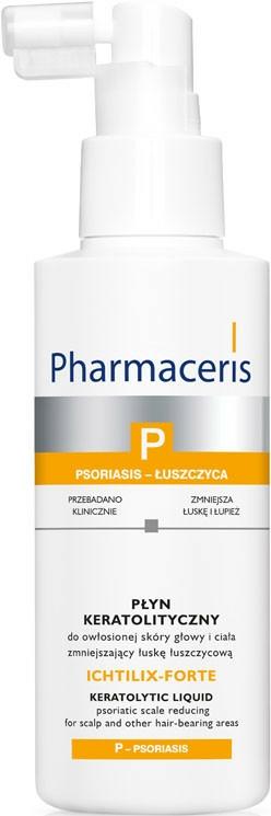 Tisztítógél pikkelysömörös testre és fejbőrre - Pharmaceris P Ichtilix Forte