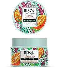 "Parfüm, Parfüméria, kozmetikum Testpeeling ""Narancsbőr elleni"" - Bisou I feel... Nature Anti-Cellulite Body Scrub Orange & Brown Algae"