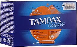 Parfüm, Parfüméria, kozmetikum Tampon applikátorral, 22 db - Tampax Compak Super Plus