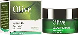 Parfüm, Parfüméria, kozmetikum Ránctalanító krém szemkörnyékre - Frulatte Olive Anti-Wrinkle Eye Cream