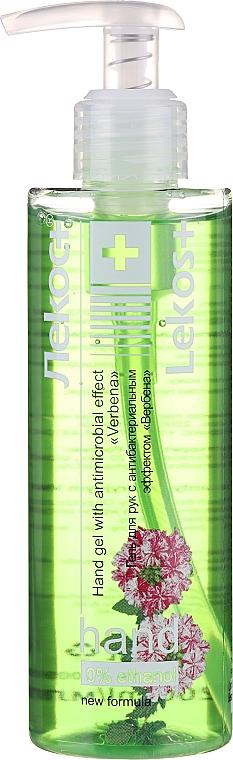 """Kézfertőtlenítő gél """"Vasfű"""" - Markell Cosmetics Lekos+"""