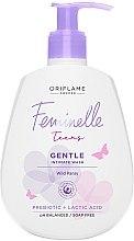 Parfüm, Parfüméria, kozmetikum Gyengéd intimlemosó tinédzsereknek árvácskával - Oriflame Feminelle Gentle Intimate Wash