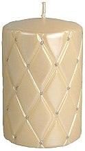 Parfüm, Parfüméria, kozmetikum Díszgyertya, 10 cm, krémszín - Artman Florence Candle