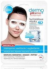 Parfüm, Parfüméria, kozmetikum Szemkörnyékápoló maszk - Dermo Pharma 4D Moisturizing & Wrinkle Reduct Hydrogel Eye Mask