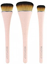 Parfüm, Parfüméria, kozmetikum Sminkecset készlet, 3db - EcoTools 360 Ultimate Blend