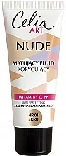 Parfüm, Parfüméria, kozmetikum Mattító alapozó - Celia Nude Mattifying Foundation