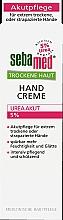 Parfüm, Parfüméria, kozmetikum Kézkrém - Sebamed Trockene Haut Hand Creme Urea Akut 5%