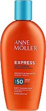 Parfüm, Parfüméria, kozmetikum Napvédő barnulást elősegítő testápoló - Anne Moller Express Sunscreen Body Milk SPF50