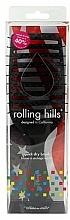 Parfüm, Parfüméria, kozmetikum Hajfésű, fekete - Rolling Hills Hairbrushes Quick Dry Brush Black