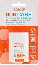 Parfüm, Parfüméria, kozmetikum Napvédő krém SPF 50+ - Floslek Sun Care Protective Stick SPF50+