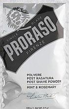 Parfüm, Parfüméria, kozmetikum Borotválkozás utáni hintőpor, menta és rozmaring - Proraso Mint & Rosemary Post Shave Powder