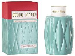 Parfüm, Parfüméria, kozmetikum Miu Miu Miu Miu - Testápoló