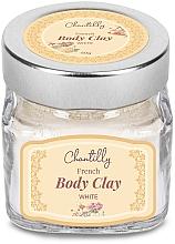 Parfüm, Parfüméria, kozmetikum Francia fehér agyag - Chantilly Body Clay White