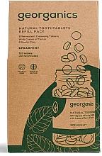 """Parfüm, Parfüméria, kozmetikum Szájöblítő tabletta """"Menta"""" - Georganics Mouthwash Tablets Spearmint Refill Pack (utántöltő)"""