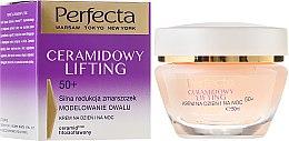 Parfüm, Parfüméria, kozmetikum Anti-age arckrém - Perfecta Ceramid Lift 50+ Face Cream