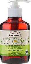 "Parfüm, Parfüméria, kozmetikum Arclemosó gél ""Zöld tea"" - Green Pharmacy"