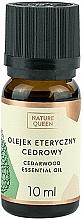 """Parfüm, Parfüméria, kozmetikum Illóolaj """"Cédrus"""" - Nature Queen Essential Oil Cedarwood"""