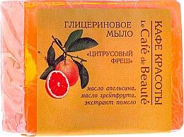 """Parfüm, Parfüméria, kozmetikum Glicerin szappan """"Citrus fresh"""" - Le Cafe de Beaute Glycerin Soap"""