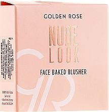 Parfüm, Parfüméria, kozmetikum Arcpirosító - Golden Rose Nude Look Face Baked Blusher