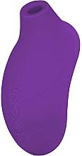 Parfüm, Parfüméria, kozmetikum Zenéló csikló izgató - Lelo Sona 2 Purple