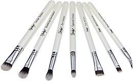 Parfüm, Parfüméria, kozmetikum Ecset készlet - Nanshy Eye Brush Set P. White (Brush/7db)