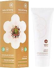 Parfüm, Parfüméria, kozmetikum Arclemosó gél, normál és zsíros bőrre - Natural Being Manuka Cleanser