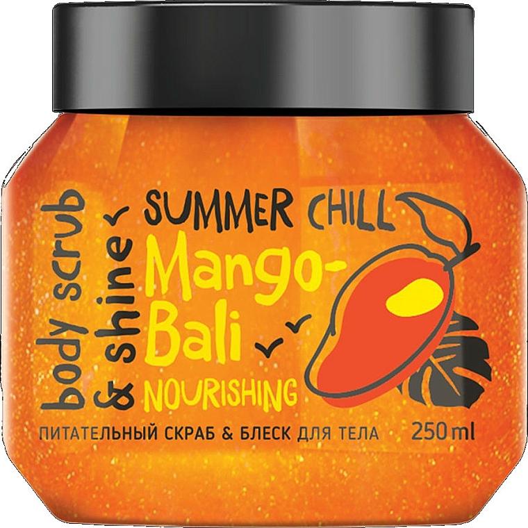 """Testradír """"Csillogás és táplálás"""" - MonoLove Bio Mango-Bali Nourishing"""