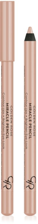 Multifunkciós szem- és ajak ceruza - Golden Rose Miracle Pencil Contour Lips Brighten Eye-Look