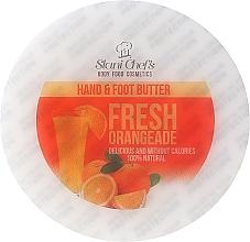 """Parfüm, Parfüméria, kozmetikum Olajos kéz és lábkrém """"Friss narancs"""" - Hristina Stani Chef's Fresh Orangeade Hand Foot Butter"""