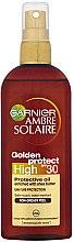 Parfüm, Parfüméria, kozmetikum Napolaj SPF 10 - Garnier Ambre Solaire Golden Protect SPF30 Oil