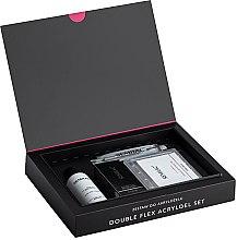 Parfüm, Parfüméria, kozmetikum Szett - Semilac Set Double Flex Acrylgel Set Clear (nail/gel/60ml + tips/120pcs + gel/liquid/125ml + acc.)
