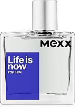 Parfüm, Parfüméria, kozmetikum Mexx Life is Now for Him - Eau De Toilette