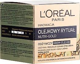 Parfüm, Parfüméria, kozmetikum Krémolaj száraz bőrre - L'Oreal Paris Nutri Gold Cream-Oil