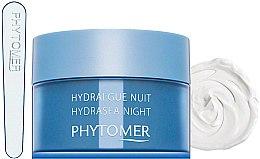 Parfüm, Parfüméria, kozmetikum Hidratáló éjszakai arckrém - Phytomer Hydrasea Night Plumping Rich cream