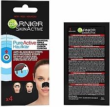 Parfüm, Parfüméria, kozmetikum Mitesszer elleni orrtapasz - Garnier Skin Active Pure Active Anti-Blackhead Charcoal Strips