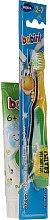 Parfüm, Parfüméria, kozmetikum Sárga-zöld fogkefe készlet - Bobini 2-7 (toothbrush + toothpaste/75ml)