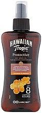 Parfüm, Parfüméria, kozmetikum Száraz olaj napozásra - Hawaiian Tropic Protective Dry Oil Spray SPF 8