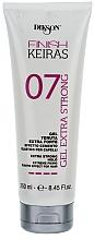 Parfüm, Parfüméria, kozmetikum Extra fixáló gél - Dikson Finish Keiras Gel Extra Strong Effetto Cemento Elastino 07