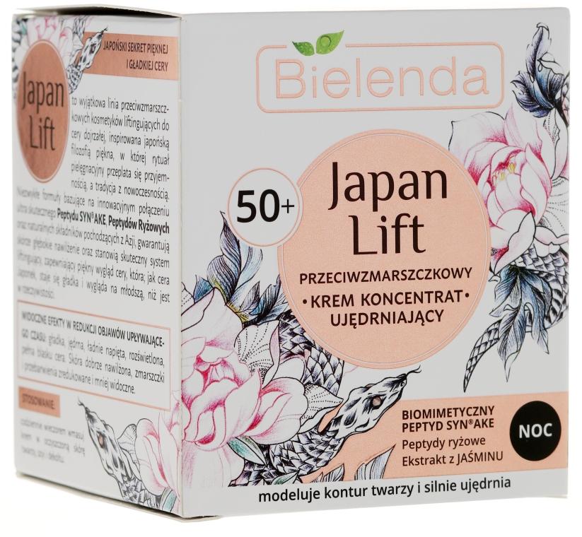 Éjszakai erősítő krém koncentrátum 50+ - Bielenda Japan Lift Night Cream 50+