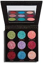 Parfüm, Parfüméria, kozmetikum Csillogó szemhéjfesték paletta - Makeup Revolution Pressed Glitter Palette Abracadabra