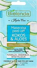 """Parfüm, Parfüméria, kozmetikum """"Kókusz és aloe vera"""" arcmaszk - Bielenda Hydra Care Face Peel Off Mask"""