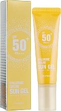 Parfüm, Parfüméria, kozmetikum Napvédő gél testre - Deoproce Hyaluronic Cooling Sun Gel